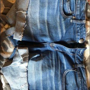Size 14 American eagle Jean shorts